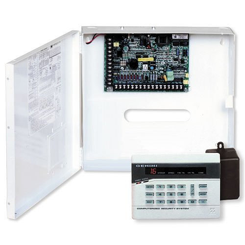 Napco alarm control panel and keypad